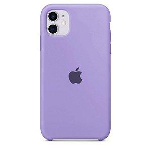 Case Capinha Lilás para iPhone 11 de Silicone - O2H3UG0Y7