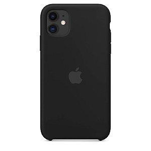 Case Capinha Preta para iPhone 11 de Silicone - KZAZTQF1J