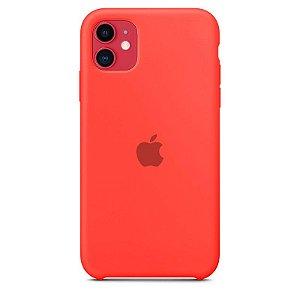 Case Capinha Rosa Neon para iPhone 11 de Silicone - FF7TL912L