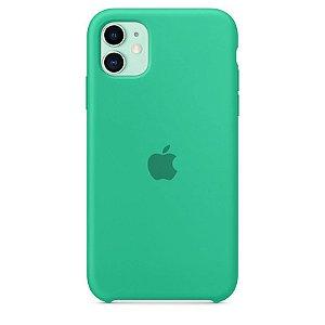 Case Capinha Verde Água para iPhone 11 de Silicone - VDB6CKKRQ
