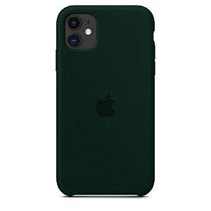 Case Capinha Verde Floresta para iPhone 11 de Silicone - MZZ7OOFID