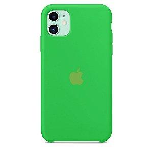 Case Capinha Verde Neon para iPhone 11 de Silicone - HK635G34B