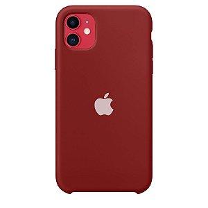 Case Capinha Vermelho Old School para iPhone 11 de Silicone - FVPT3Q1M2