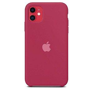 Case Capinha Vinho para iPhone 11 de Silicone - J3WJZKLHQ