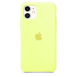 Case Capinha Amarelo Neon para iPhone 11 de Silicone - H350IO3GV