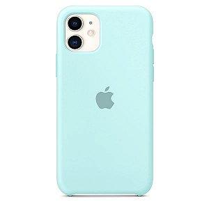 Case Capinha Azul Mar para iPhone 11 de Silicone - CZPIV53GF