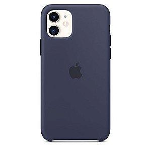 Case Capinha Azul Meia Noite para iPhone 11 de Silicone - 0KVOUDEHM