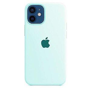 Case Capinha Azul Mar para iPhone 12 e 12 Pro de Silicone - 5JB7EEM01