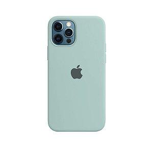 Case Capinha Azul Céu para iPhone 12 e 12 Pro de Silicone - 74LSG4QR8