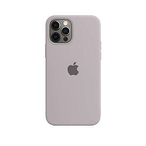 Case Capinha Cinza Concreto para iPhone 12 e 12 Pro de Silicone - QI29FOXYY