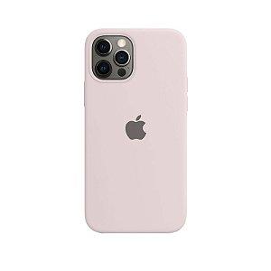 Case Capinha Rosa Areia para iPhone 12 e 12 Pro de Silicone - RIBTQBBRH