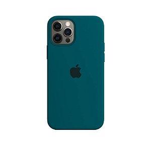 Case Capinha Verde Pacífico para iPhone 12 e 12 Pro de Silicone - YDPL19DBR