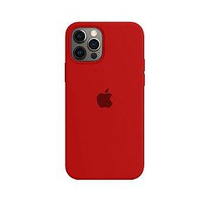 Case Capinha Vermelha para iPhone 12 e 12 Pro de Silicone - Z7SG5AO0L
