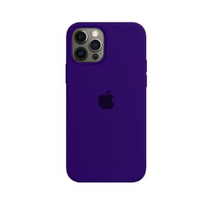 Case Capinha Violeta para iPhone 12 e 12 Pro de Silicone - VXT799DJK