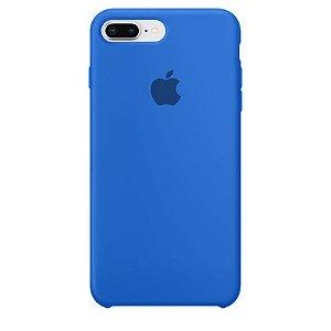Case Capinha Azul Royal para iPhone 7 Plus e 8 Plus de Silicone - 5THWXTJGF