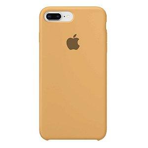 Case Capinha Mostarda para iPhone 7 Plus e 8 Plus de Silicone - ZT44Y4EMW