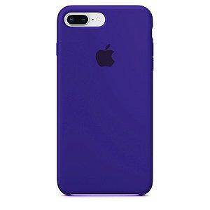 Case Capinha Violeta para iPhone 7 Plus e 8 Plus de Silicone - 5KF0H4DPE