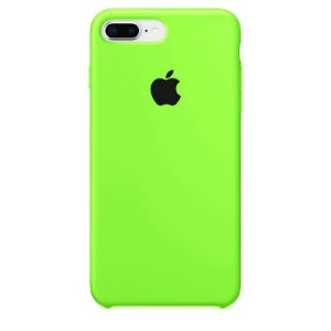 Case Capinha Verde Neon para iPhone 7 Plus e 8 Plus de Silicone - JSVFQSXU6