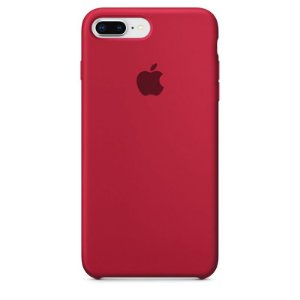 Case Capinha Vinho para iPhone 7 Plus e 8 Plus de Silicone - 49YBSZDAB