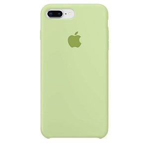 Case Capinha Verde Pistache para iPhone 7 Plus e 8 Plus de Silicone - OFVOYVLHI
