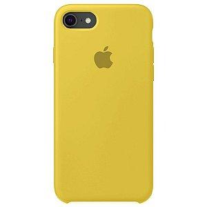 Case Capinha Amarela para iPhone 7, 8 e SE 2º Geração de Silicone - V2I11IAQE