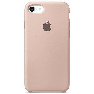 Case Capinha Rosa Areia para iPhone 7, 8 e SE 2º Geração de Silicone - WS8XWA66S