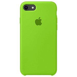 Case Capinha Verde para iPhone 7, 8 e SE 2º Geração de Silicone - 0Q27RFSJ9