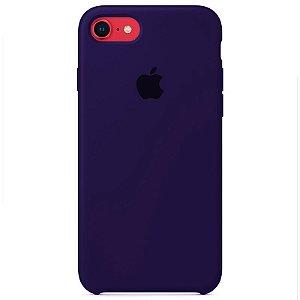 Case Capinha Violeta para iPhone 7, 8 e SE 2º Geração de Silicone - 3VLWOP5KK