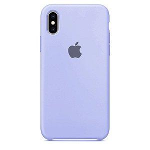 Case Capinha Azul Claro para iPhone X e XS de Silicone - BH9ZI8UJC
