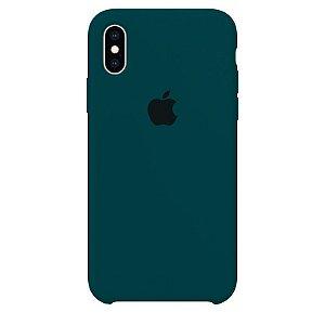 Case Capinha Azul Horizonte para iPhone X e XS de Silicone - MWWAQ4NNN
