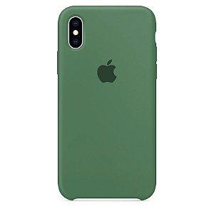 Case Capinha Verde Pacífico para iPhone X e XS de Silicone - 2QWA92ZMZ