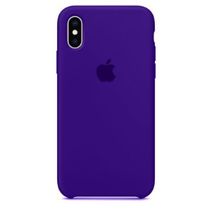Case Capinha Violeta para iPhone X e XS de Silicone - JZFI6LZA6