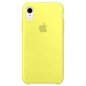 Case Capinha Amarelo Neon para iPhone XR de Silicone - D7M2BL4UR