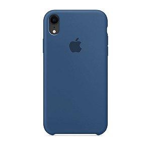 Case Capinha Azul Holandês para iPhone XR de Silicone - CM0RDWBYB