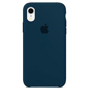 Case Capinha Azul Horizonte para iPhone XR de Silicone - E40DGG457