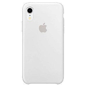 Case Capinha Branca para iPhone XR de Silicone - ZPITQXQAP