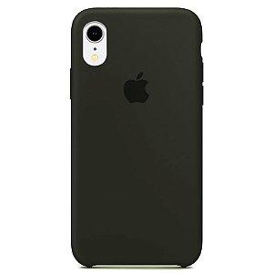 Case Capinha Cinza Escuro para iPhone XR de Silicone - 6IC563T66