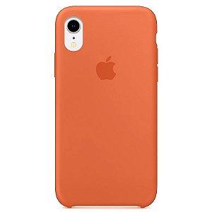 Case Capinha Tangerina para iPhone XR de Silicone - VQJYC1GWK
