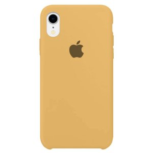 Case Capinha Mostarda para iPhone XR de Silicone - 2N5PZ6559
