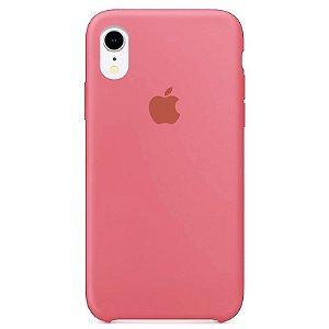 Case Capinha Rosa Chiclete para iPhone XR de Silicone - 91S48ZOKU