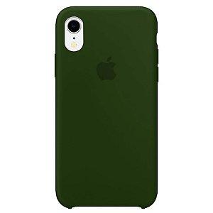 Case Capinha Verde Bandeira para iPhone XR de Silicone - 2UHWMGRR5