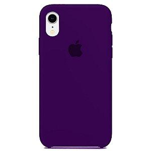 Case Capinha Violeta para iPhone XR de Silicone - BW7N662WX