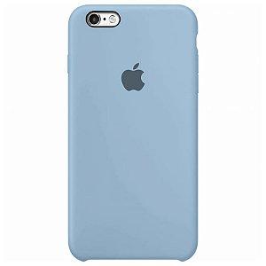 Case Capinha Azul Bebê para iPhone 6 e 6s de Silicone - F5ABFS57O