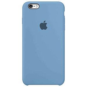 Case Capinha Azul Caribe para iPhone 6 e 6s de Silicone - JCHFHOEAB