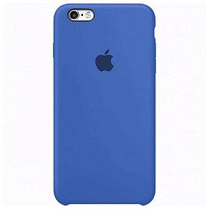 Case Capinha Azul Royal para iPhone 6 e 6s de Silicone - ZZ1CVPWH8
