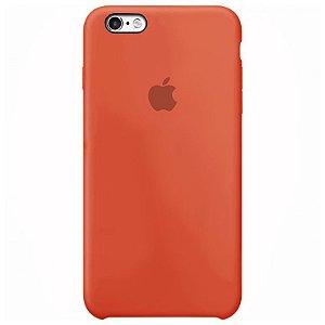 Case Capinha Laranja para iPhone 6 e 6s de Silicone - DP88C21KY