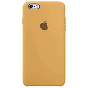 Case Capinha Mostarda para iPhone 6 e 6s de Silicone - NKQPSUK5S