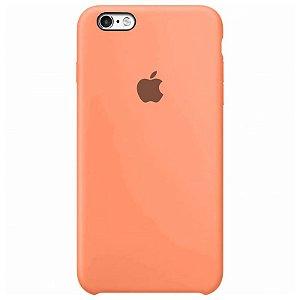 Case Capinha Rosa para iPhone 6 e 6s de Silicone - TXV5Y7PYL