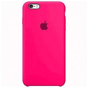 Case Capinha Rosa Pink para iPhone 6 e 6s de Silicone - 01DRL33LU