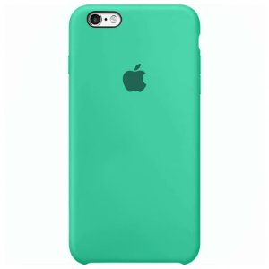 Case Capinha Verde Água para iPhone 6 e 6s de Silicone - US53LJYYQ